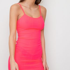 Bandage Dress - Buffy Pink