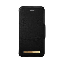 Fashion Wallet, Black iPhone 7