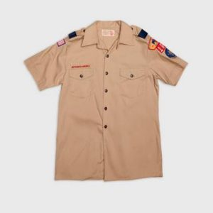 Vintage by Stayhard Scout S/S Shirt Brun