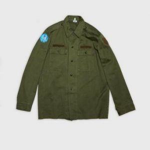 Vintage by Stayhard Military Shirt Grön