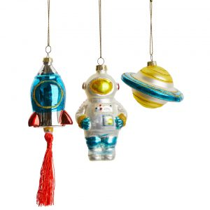 &klevering Space Ornaments - Silver