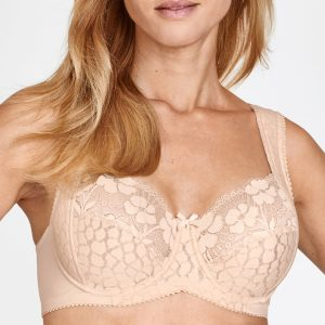 Jacquard And Lace Bh Med Bygel