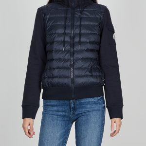 Moncler Jacka Zip Up Cardigan blå L